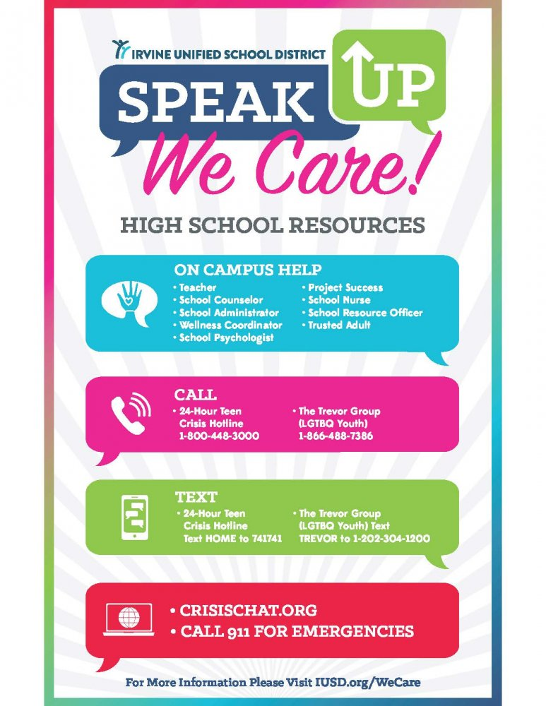 Speak Up We Care