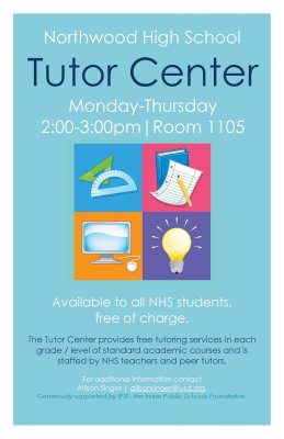 Tutor Center Flyer