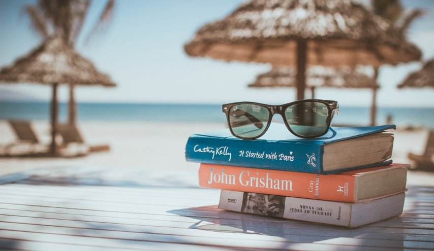 Books and glasses image