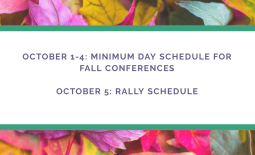 Fall Conferences Schedule