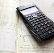 Calculator and Book