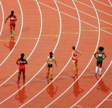 track and field race