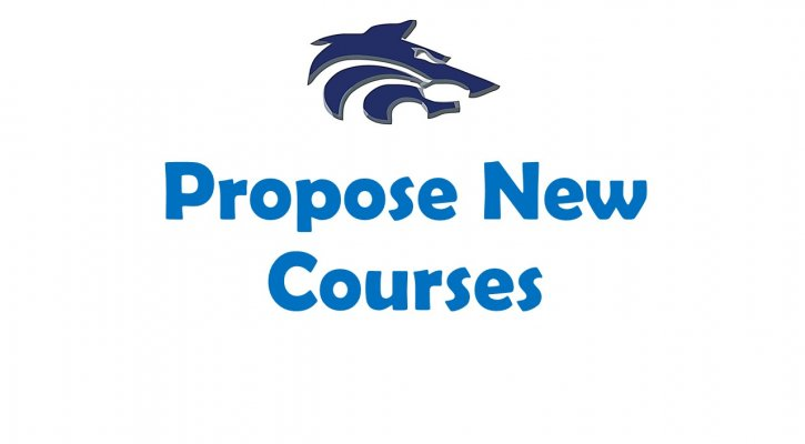 Propose New Courses