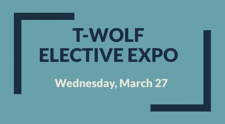 T-wolf Elective Expo